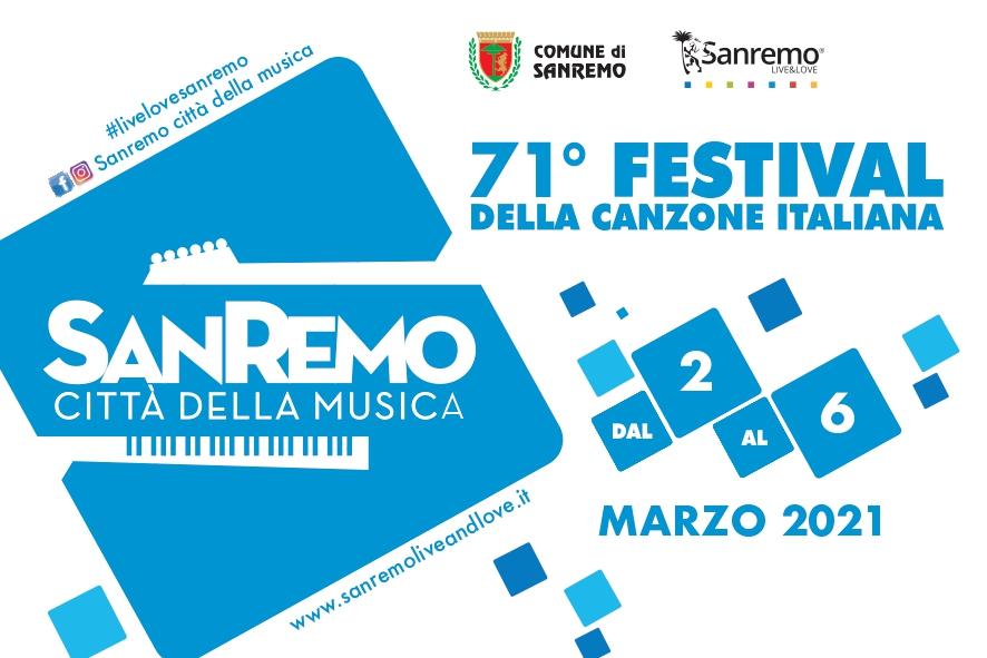 Festival 2021: cartolina del 71° Festival di Sanremo