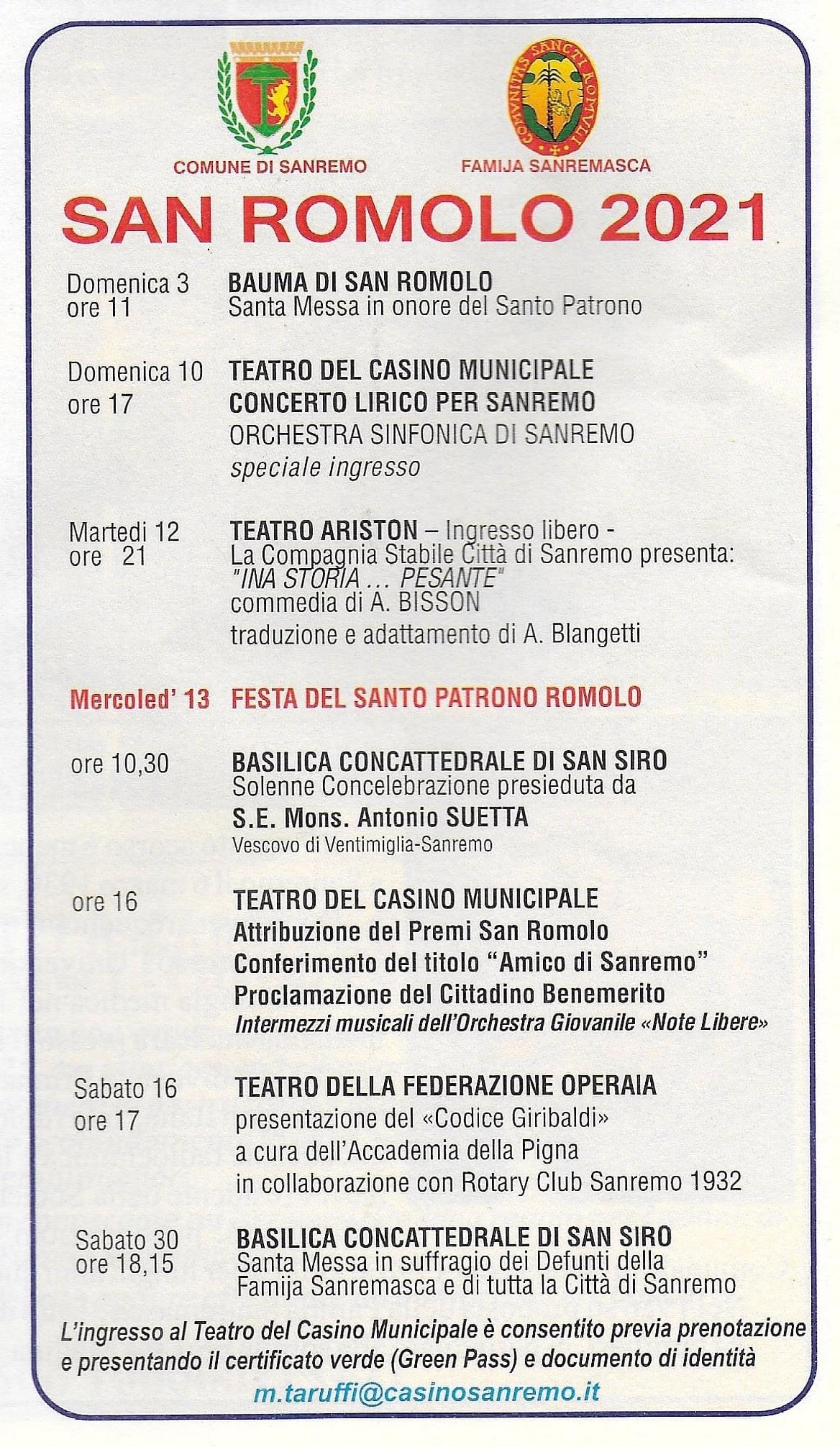 San Romolo 2021